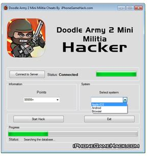 doodle army mini militia cheats doodle army 2 mini militia cheats hack points ios android