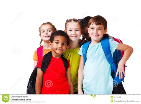 Royalty Free School Children Stock by Backpack Royalty Free Stock Images Image 22115499