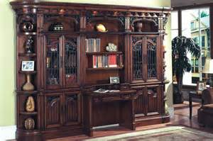 home office library furniture house home office 2pc library desk bar 460 2