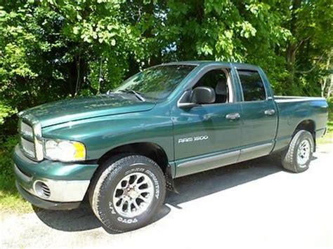 buy used 2002 dodge ram 1500 4door quadcab 4x4 4 7 liter 8 cylinder with air conditioning in