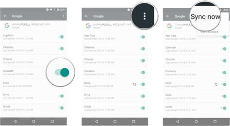 sync contacts android how to transfer contacts from iphone to android android central