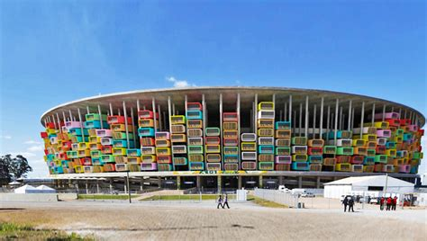Low Cost Tiny Homes by Casa Futebol Architects Want To Turn Brazil S Stadiums
