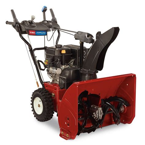toro power max 724 oe 2 stage snow blower the home depot