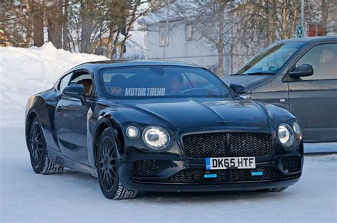 bentley coupe next generation bentley continental gt spied winter