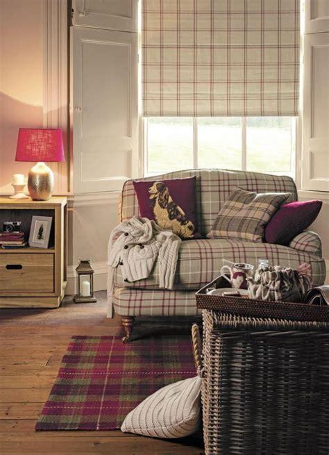 D Co Vintage Salon by Id 233 Es D 233 Co Avec Le Tissu 233 Cossais Classique Archzine Fr