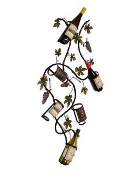 Grape Vine Wine Rack by Top 10 Interesting Metal Wine Racks For Your Dining Room