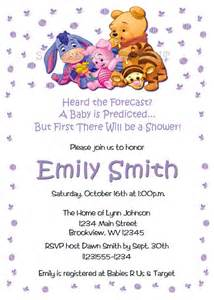 personalized photo invitations cmartistry baby winnie