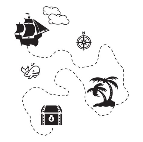 Quote Stickers For Walls pirate treasure map wall quotes decal wallquotes com