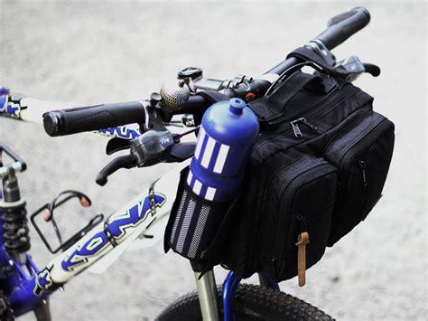 Tas Sepeda Touring Bagasi Pannier Trunk Bag Bandung 1502 Hitam cfd bike bags