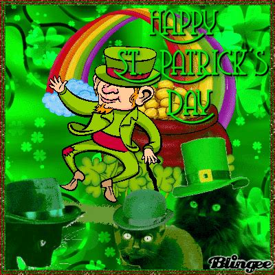 dancing happy st patricks day leprechaun pictures   images  facebook tumblr
