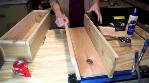 build  cedar planter box youtube