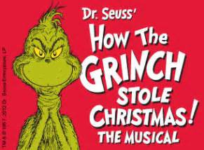Dr seuss how the grinch stole christmas the musical tickets event