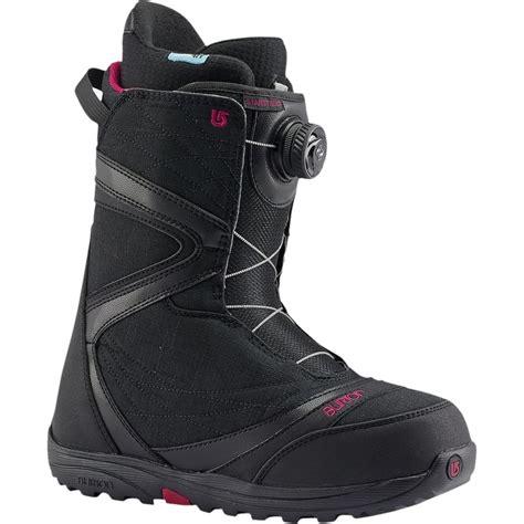 womans snowboarding boots burton starstruck boa snowboard boot s