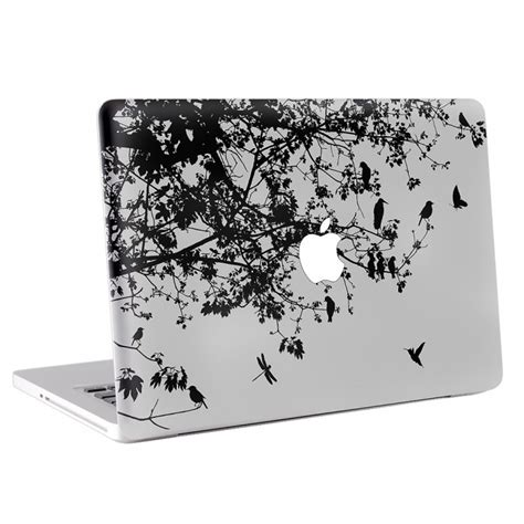 Protect Your Macbook With The Promb13tt From Bird Electron by Floral And Bird Macbook Skin Decal