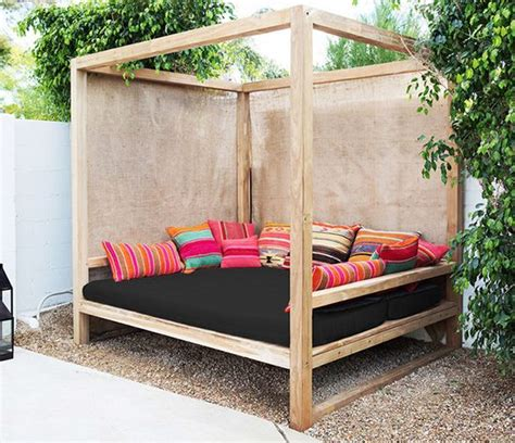 Outdoor Furniture Daybed Best 25 Outdoor Beds Ideas On Pinterest Asian Outdoor Furniture Hanging Furniture And Asian