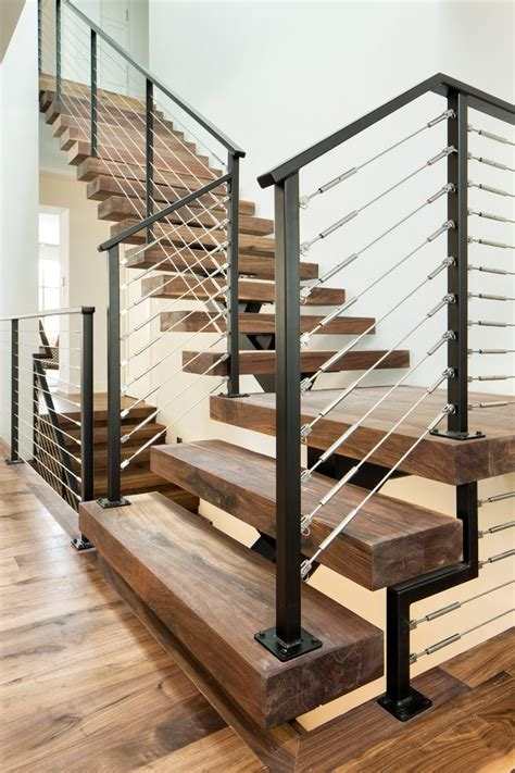Rectangular Kitchen Ideas contemporary stair railing staircase with dark wood stairs