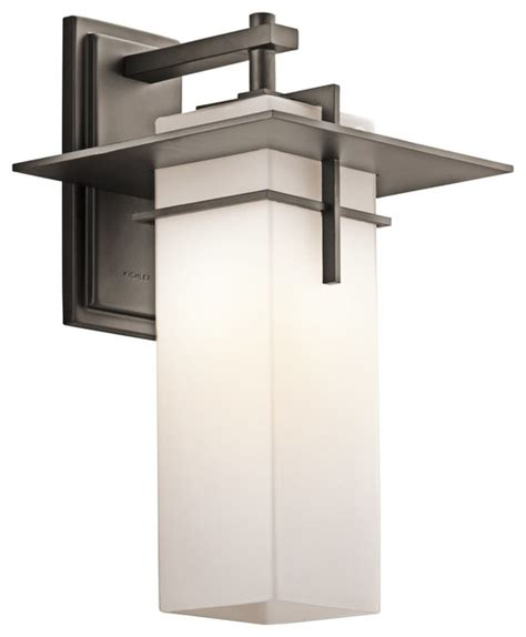 Contemporary Outdoor Wall Light Kichler Lighting Caterham Modern Contemporary Outdoor Wall Sconce X Zo44694 Contemporary