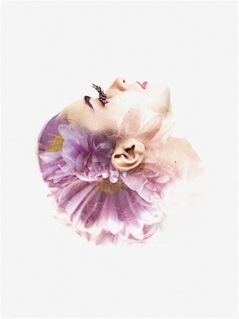 double exposure tutorial flowers we are all made of flowers 171 aneta ivanova