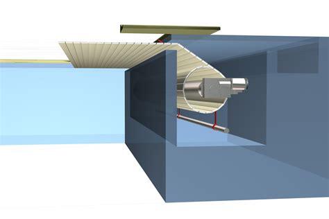 copertura a cupola coperture automatiche per piscine in progettazione