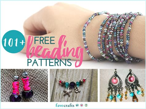 beading projects 101 free beading patterns favecrafts