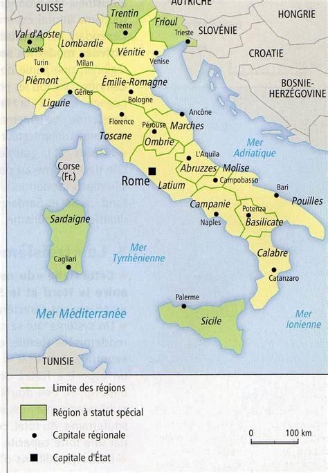 d italiaã les r 233 gions d italie du voyage