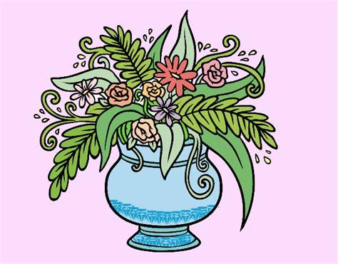 vaso con fiori disegno un vaso con fiori colorato da utente non