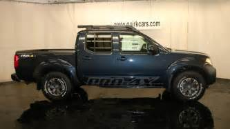 Nissan Pro 4x Frontier For Sale New 2017 Nissan Frontier Pro 4x Crew Cab In Quincy