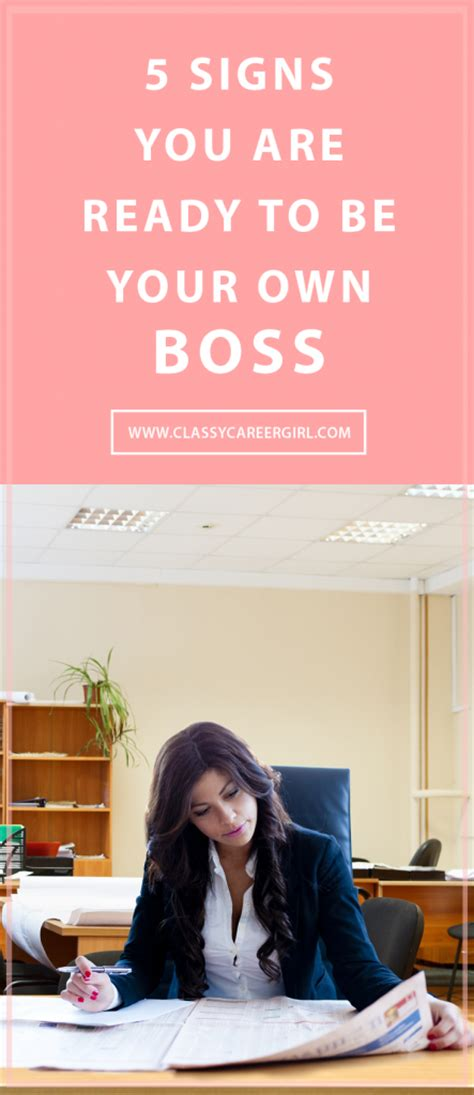 5 signs you are ready to enroll in an online mba program 5 signs you are ready to be your own boss classy career girl