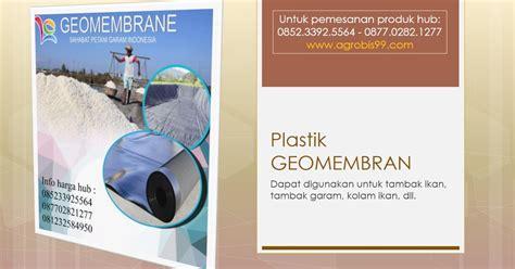 Jual Tali Gawar manfaat geomembran untuk tambak garam jual plastik untuk