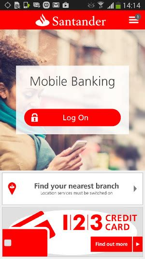 Santander business banking mobile app reheart Image collections