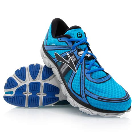 pureflow running shoes pureflow mens running shoes blue black silver