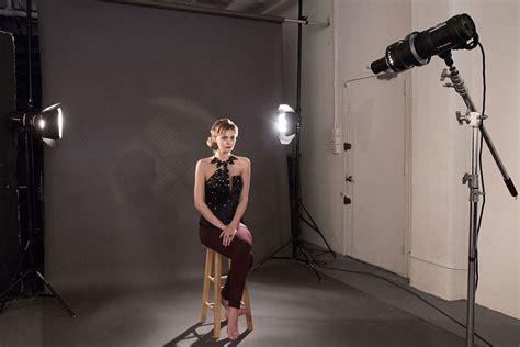 Photography Studio Lights by Noir Inspired Lighting Setup With Spot Projection