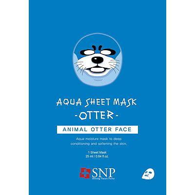 animal otter aqua mask sheet ulta beauty