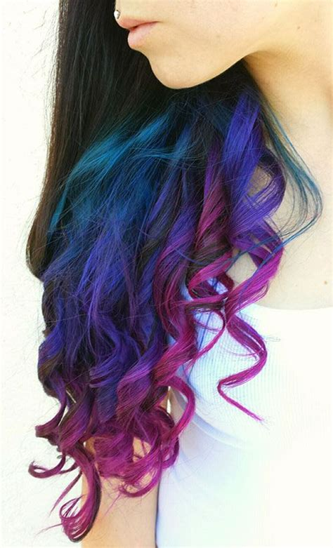 hair with colored tips best 20 colored hair tips ideas on dip dyed
