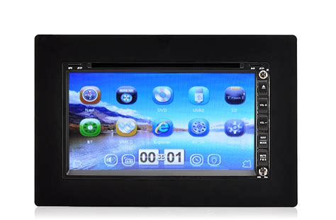 Din Car Multimedia Player Touch Screen 65 Inch Built In Bt 2 din 1080p windows car dvd player 6 95 inch touch screen 3g gps bluetooth rds tabr c373