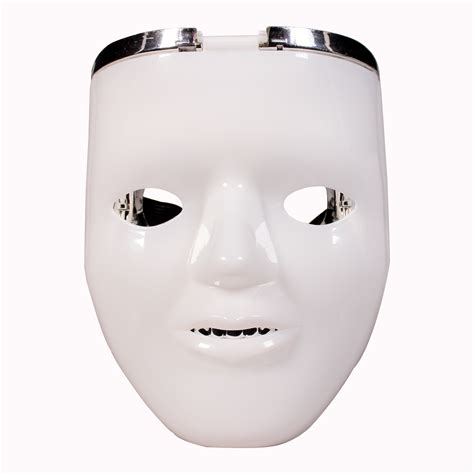 light up face mask led double face mask light up novelties