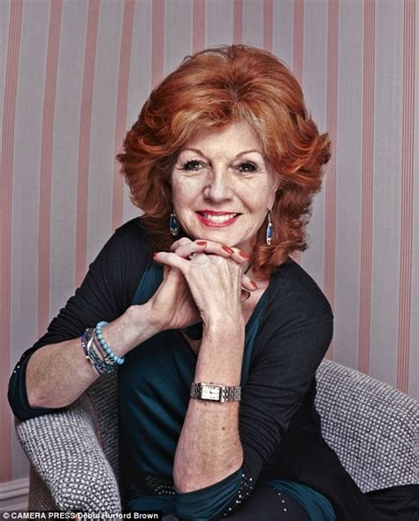 actress rula lenska people think i m tough but in reality i m a real softie