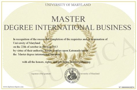 Oklahoma State Mba Requirements by International Business International Business Degree