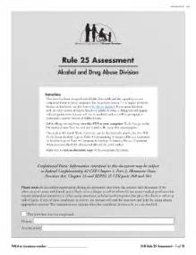 Resume Form by Rule 25 Assessment Form Hennepin County Fill Online
