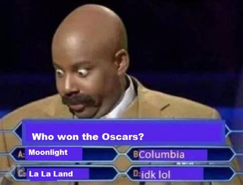 Funny Oscar Memes - 2017 academy awards oscar memes