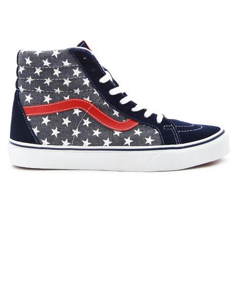 high top vans sneakers vans doren america high top suede canvas sk8 sneakers