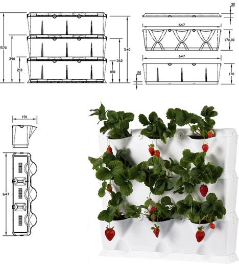 Vertical Home Gardens Modular Stacking Green Wall System Wall Gardening System