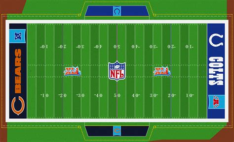 Bowl Fields by The Gridiron Fields Database
