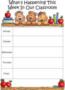 blank daycare menu template preschool printables