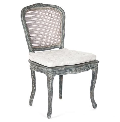 Caning Chair - caned back country dining chair antique