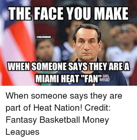 Fantasy Basketball Memes - 25 best memes about miami heat miami heat memes