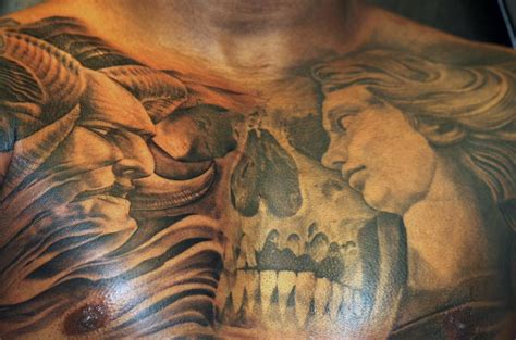 evil tattoo vs evil chest www pixshark images