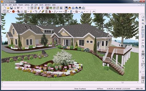 home design software chief architect home designer landscape deck by chief architect software pdf