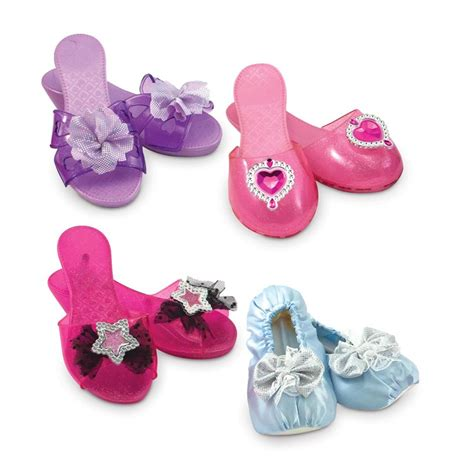 play shoes dress up shoes 4 pairs play set educational toys