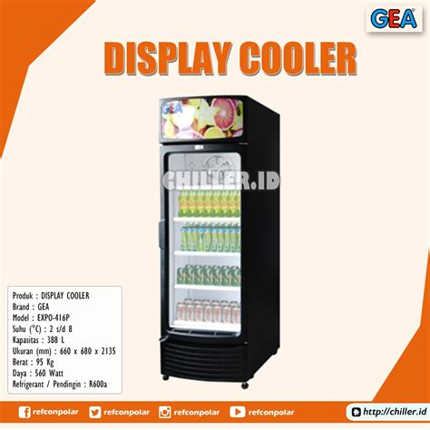 Showcase Gea Expo 1500ah jual expo 416p display cooler brand gea harga murah di